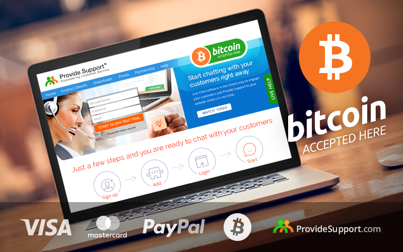 We're delighted to inform that we now accept Bitcoin, the