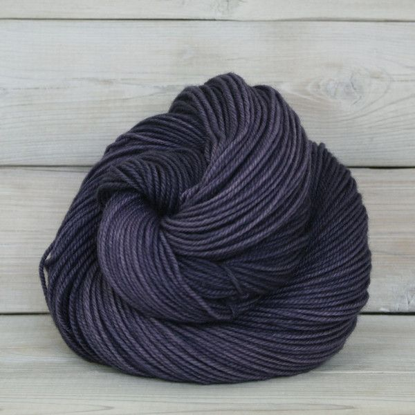 Zeta sport weight yarn from Luna Grey Fiber Arts in Enchanted. Soft, lightweight, and has a wonderful drape. Perfect for shawl patterns, like the one featured in PostStitch's December 2014 BigStitch box: http://bit.ly/12EwaXH