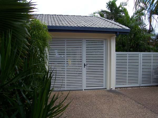 COLORBOND® STEEL carport screen and gates with slats in Windspray®! Gate style for & COLORBOND® STEEL carport screen and gates with slats in Windspray ... Pezcame.Com