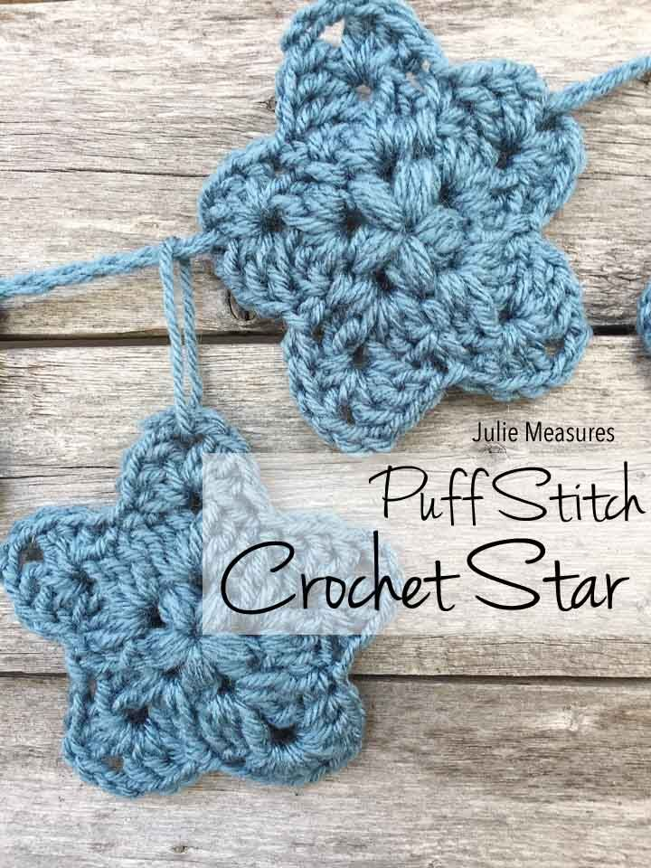 Whip Up A Bunch Of Stars To Celebrate The Holiday This Puff Stitch