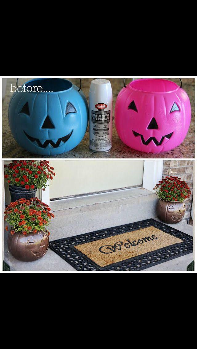 Easy and cheap Halloween/autumn decoration