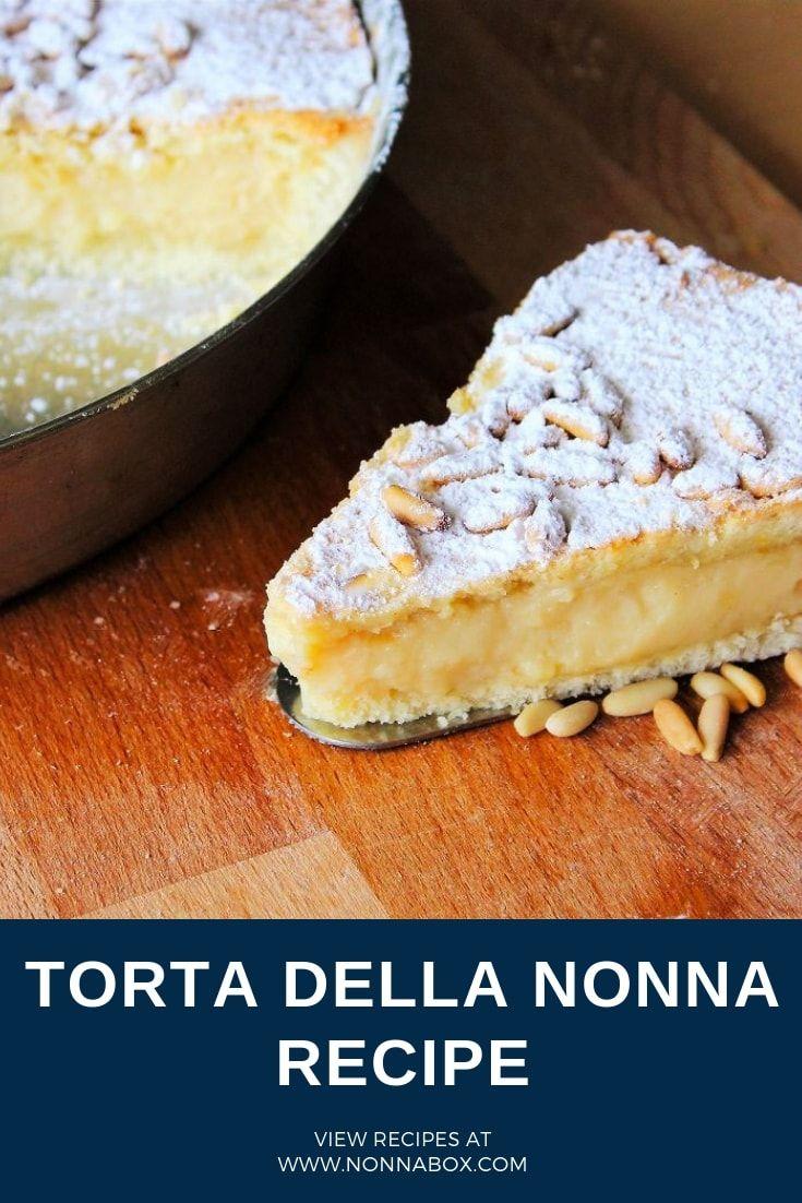 Photo of Torta della Nonna Recipe – Italian Pastry Cream Tart