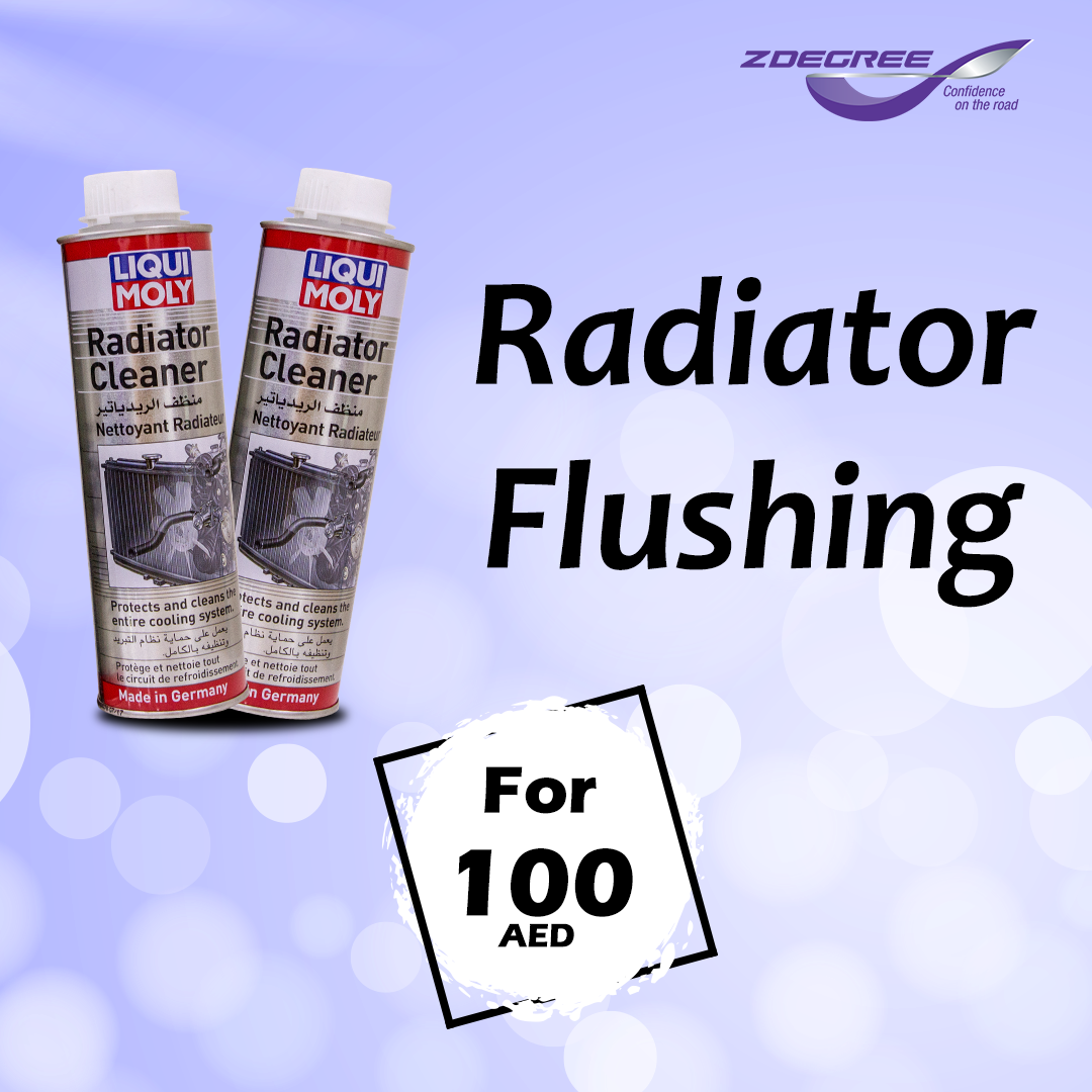 Radiator Flush For Only 100 Aed Tyre Shop Buy Tires Auto Service