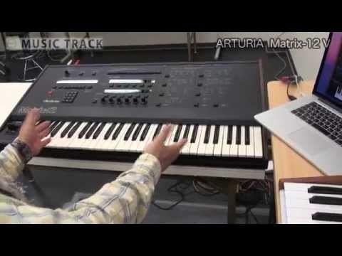 nice ARTURIA Matrix-12 V Demo & Review [English Captions] Free