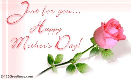 Just For You Happy Mothers Day Holiday Mothers Day