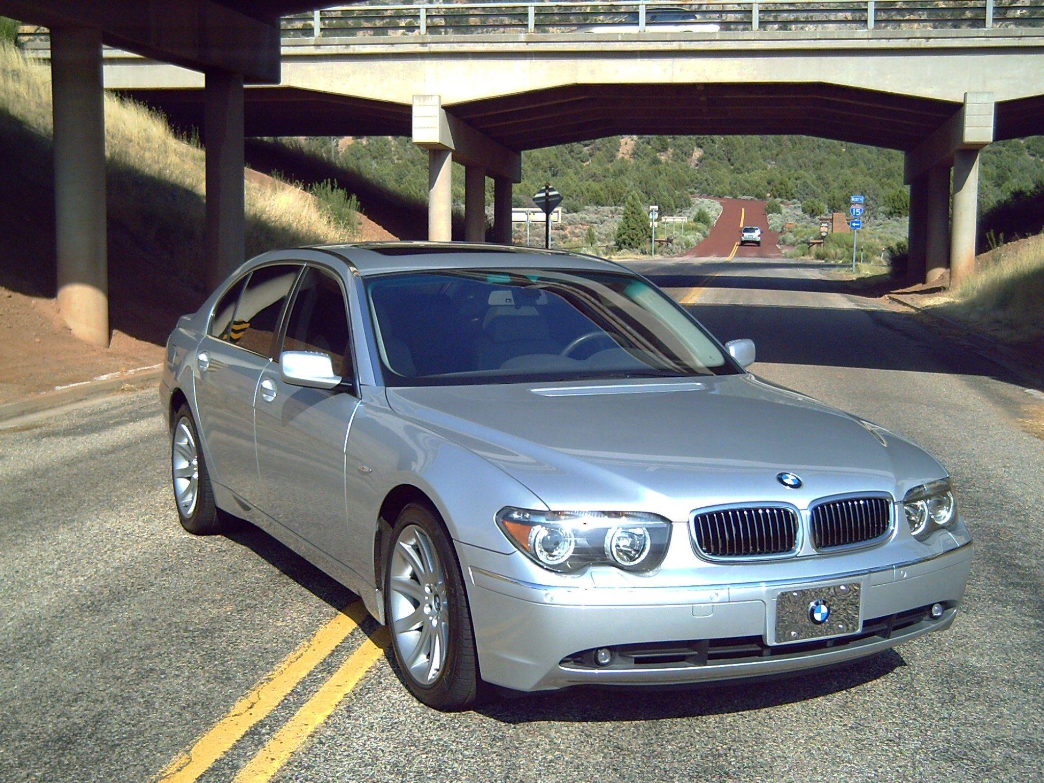 BMW 745Li silver baby Cars Pinterest
