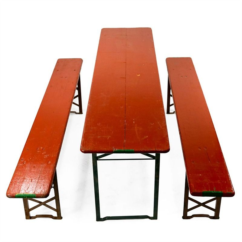 Vintage German Beer Garden Table Set Collection | Bambeco