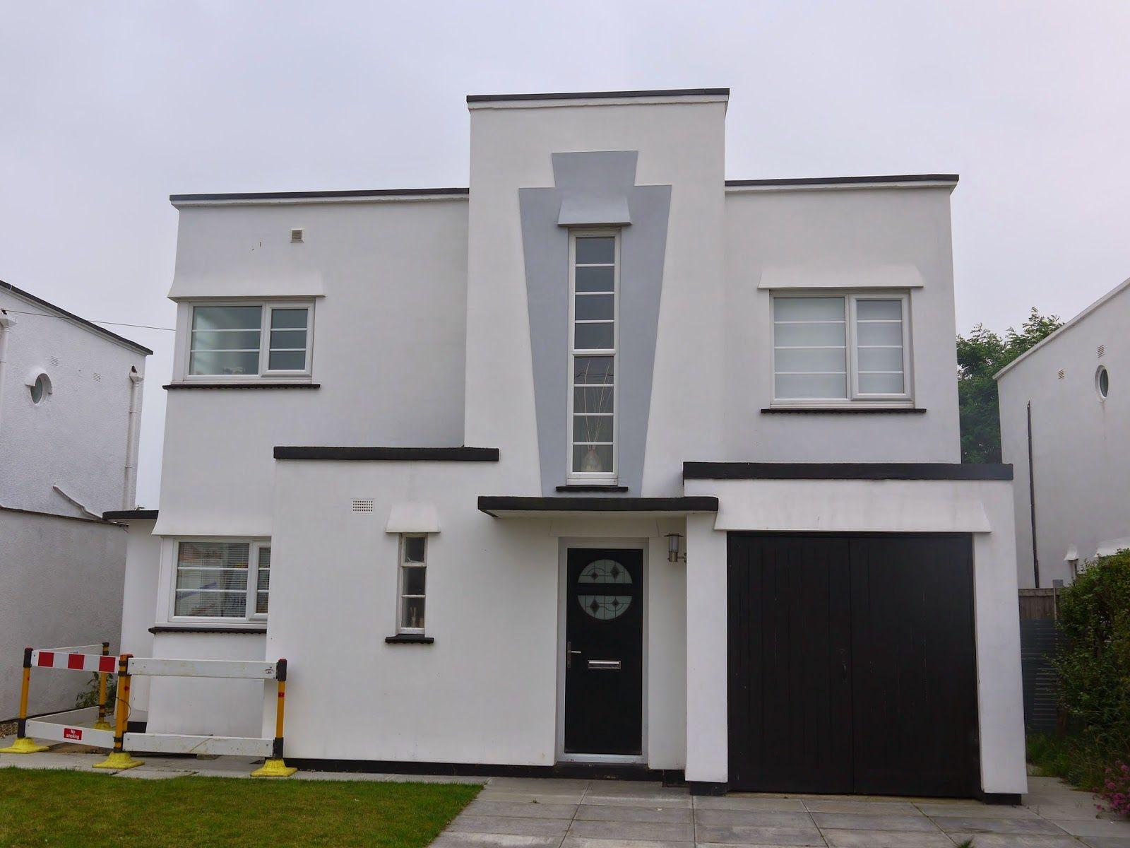 Art Deco Home red rails, newquay | art deco and art nouveau | pinterest