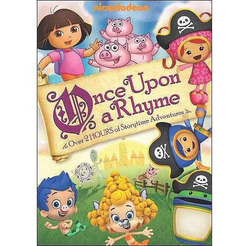 Nickelodeon Favorites Once Upon A Rhyme Dvd Walmart Com Nickelodeon Dora The Explorer Rhymes