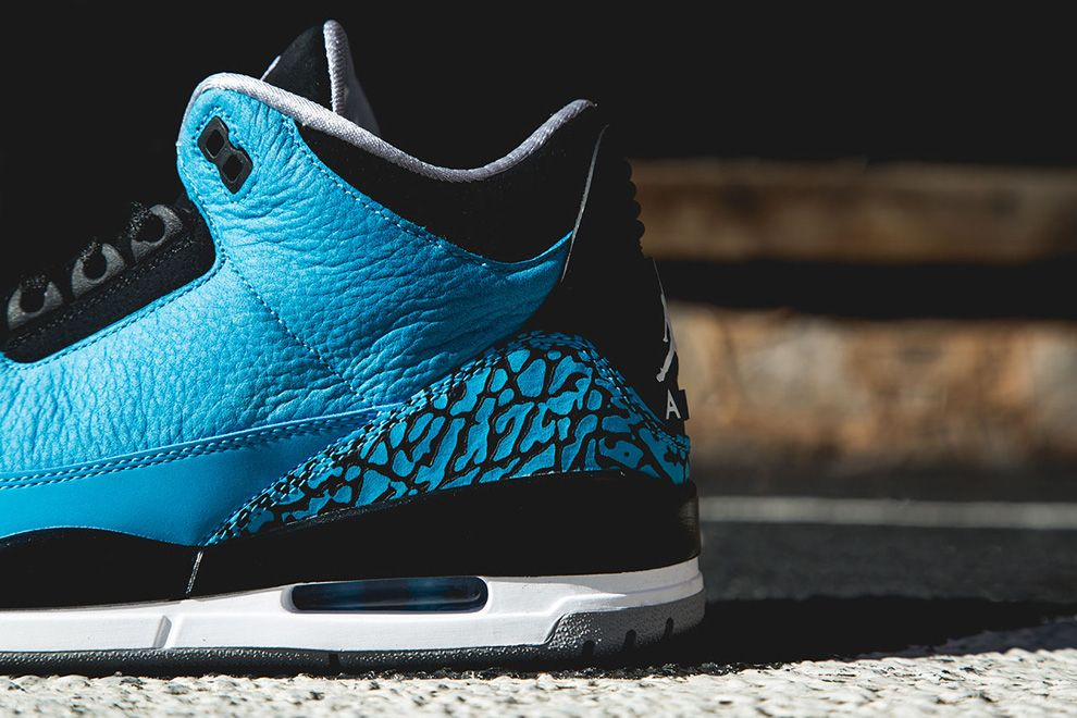 Air Jordan 3 Retro Powder Blue #fashion #nike #shopping #sneakers #shoes