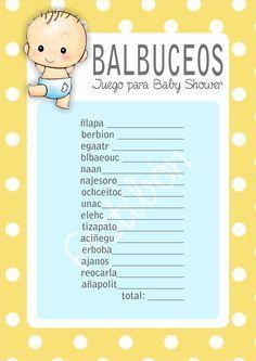 Descarga 16 Juegos Para Baby Shower Para Imprimir Gratis En Bs