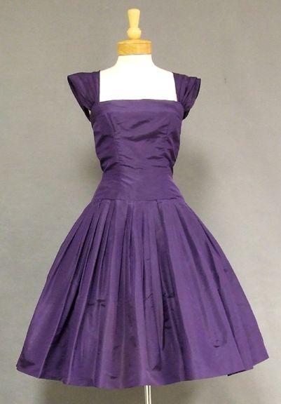 1000  images about Purple Passion Vintage Dresses on Pinterest ...