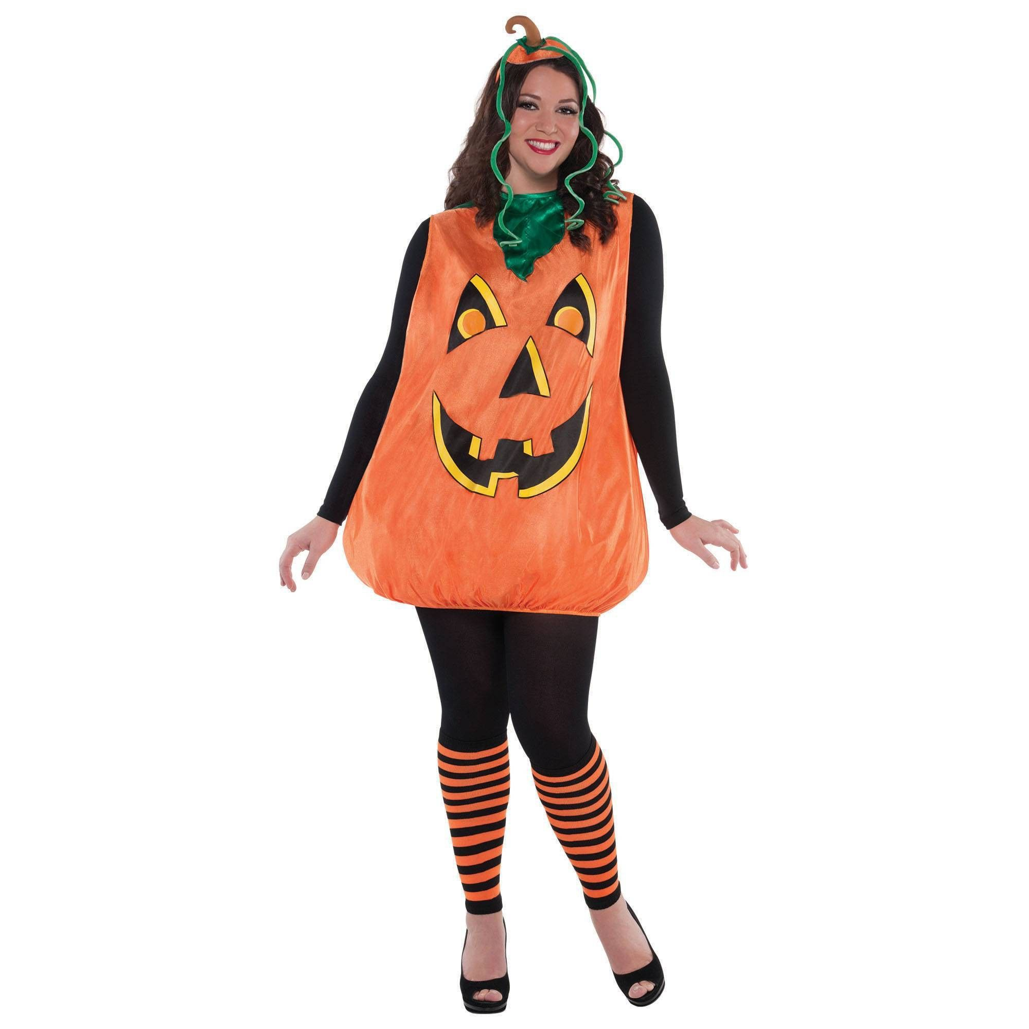 Halloween Women's Plus Pretty Pumpkin Halloween Costume