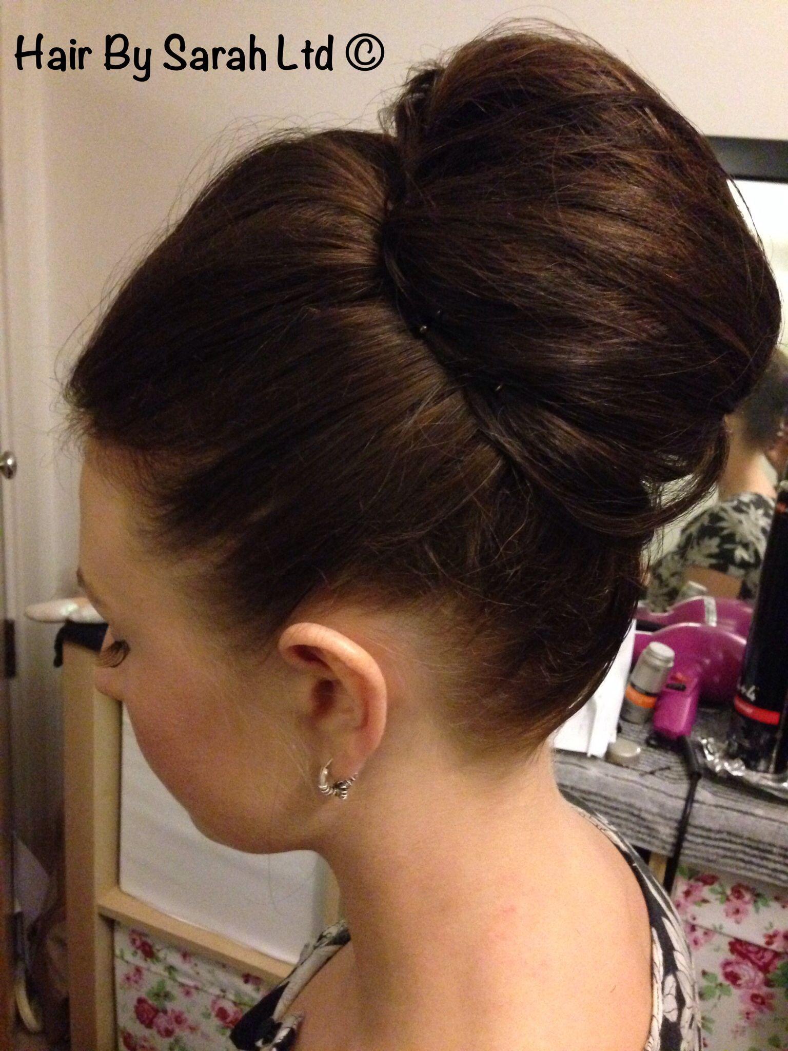 Hair Up Elegant Updo Classic Hair Smooth Volume Padding