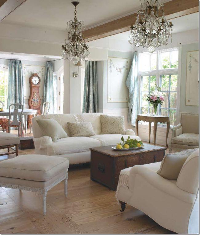 {Inspiration} Feeling blue | Living room decor country ...