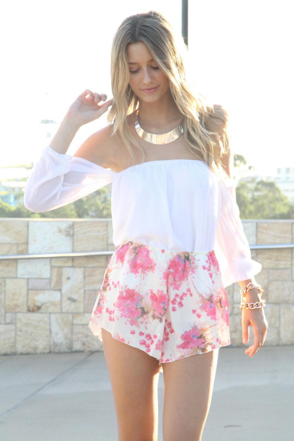 #saboskirt.com            #Skirt                    #SABO #SKIRT #Floral #Bloomer #Shorts               SABO SKIRT Floral Bloomer Shorts                                              http://www.seapai.com/product.aspx?PID=1051395