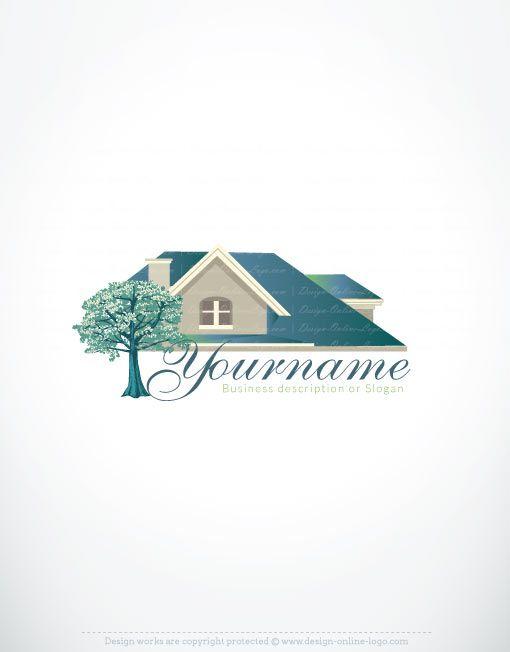 Exclusive Logos Store - Online House logo design | House logos ...