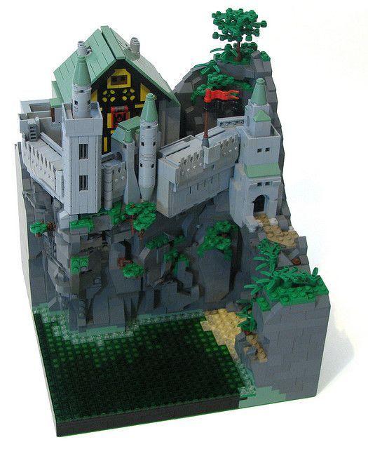 LEGO Microscale Castle   LEGO Designs   Pinterest   Lego ...
