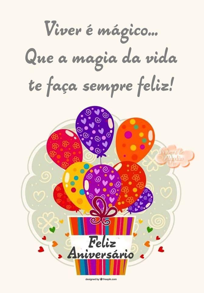Aniversário Imagens Pinterest Happy Birthday Birthday Wishes