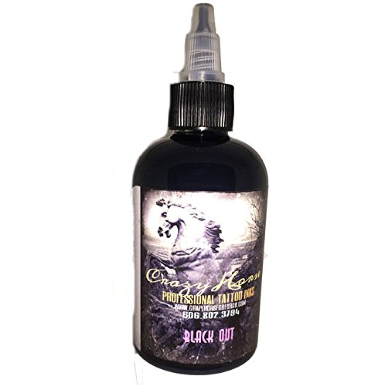 Crazyhorse High Quality Tattoo Ink Black Out You Can Get More Details By Clicking On The Image This Is An Affiliate Link T Black Ink Tattoos Tattoo Supplies Ink