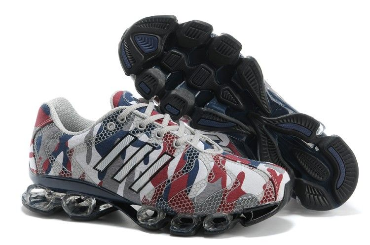 Adidas Bounce 8 Mens Camouflage Red Athletic Running Shoes adidas bounce  porsche Regular Price: $190.00