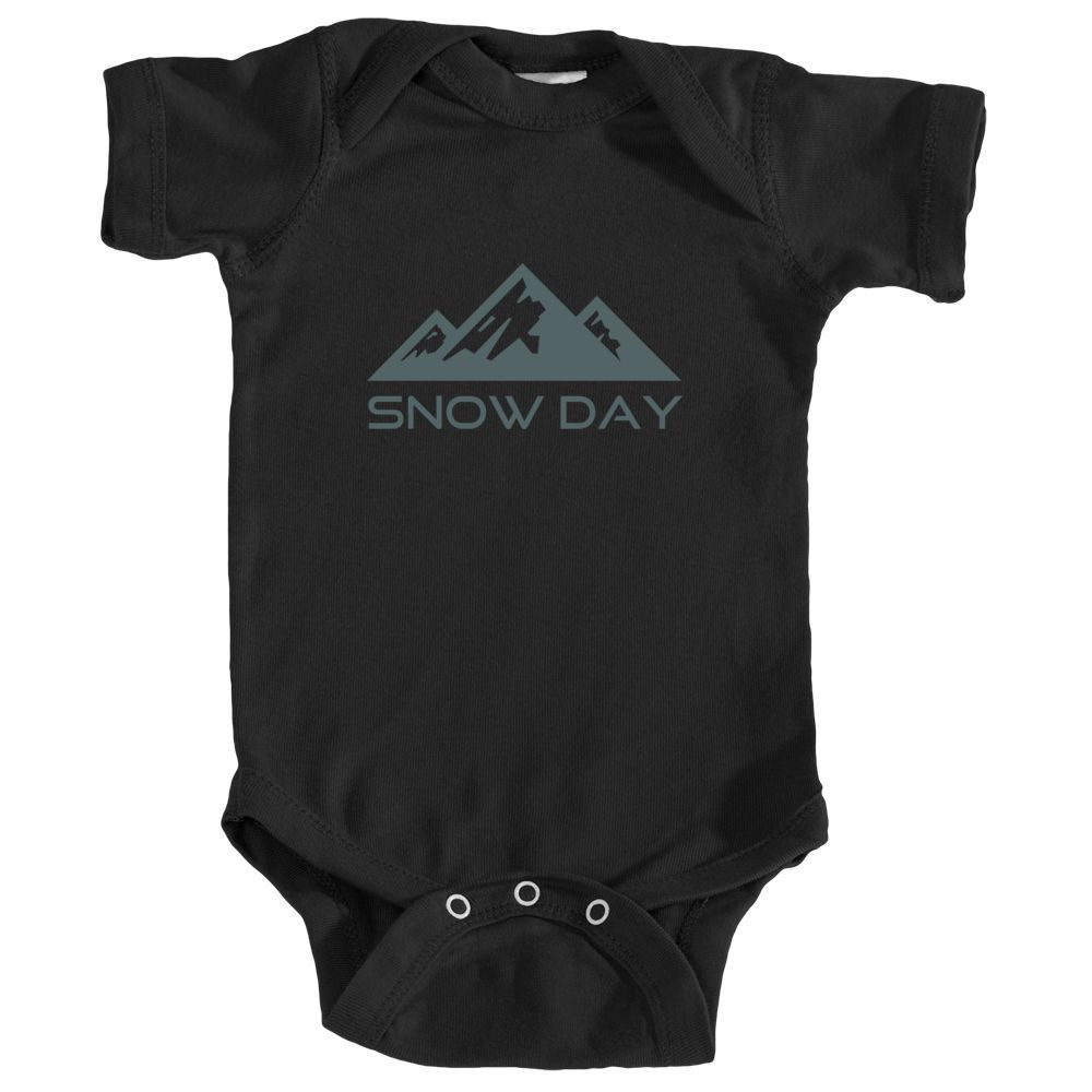 Snow Day Three Peak - Infant Onesie/Bodysuit