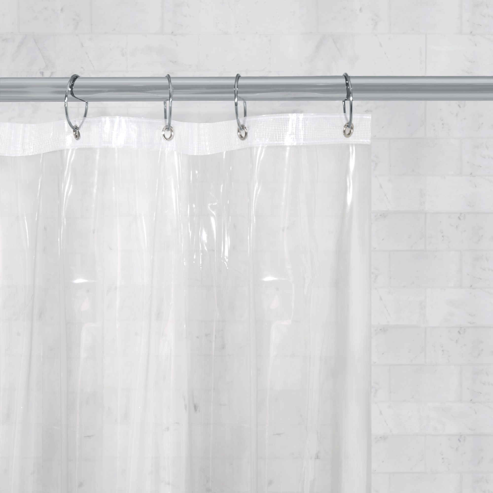 Better Homes Gardens Super Heavyweight 10 Gauge Shower Curtain Or Liner Walmart Com Walmart Com