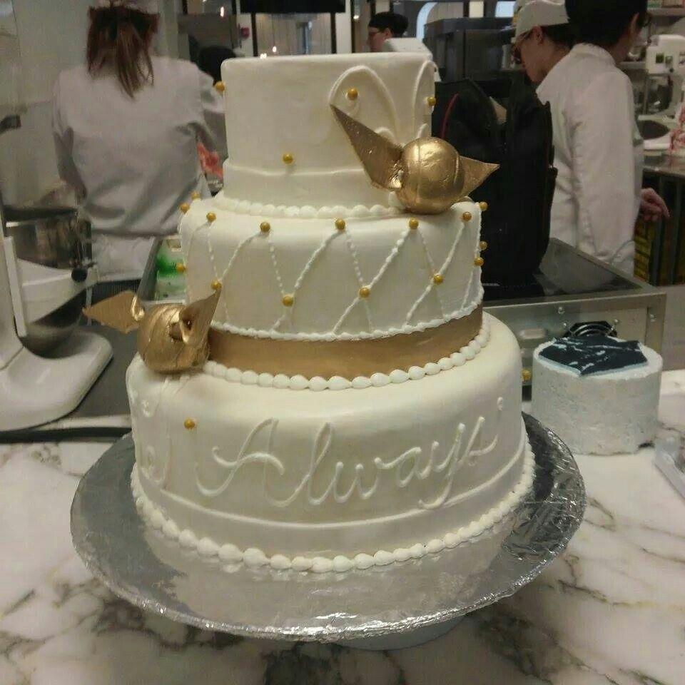 Harry Potter Wedding Cake Omg Always