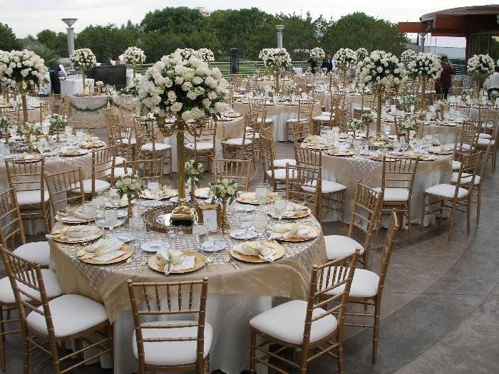 White Gold And Silver Wedding