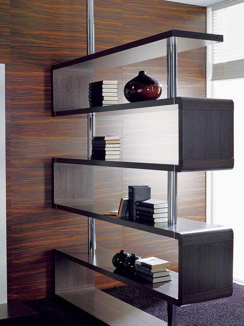C mo crear espacios con un separador de ambientes modular ambientes hogar separadores de - Estanterias separadoras de ambientes ...