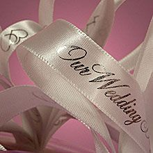 $2.91 - $4.98 Printed Wedding Ribbons many more colors and styles