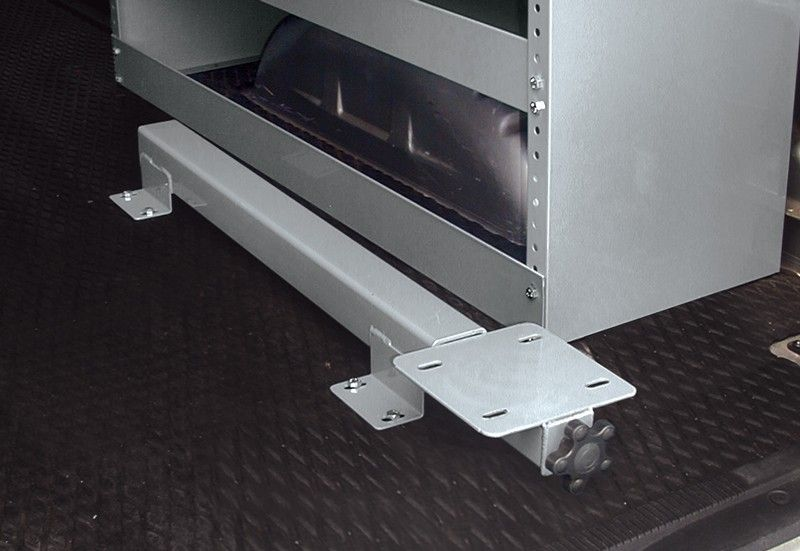 Slide Out Vise Mount For Work Van Sheet Metal Work Truck Storage Mounting