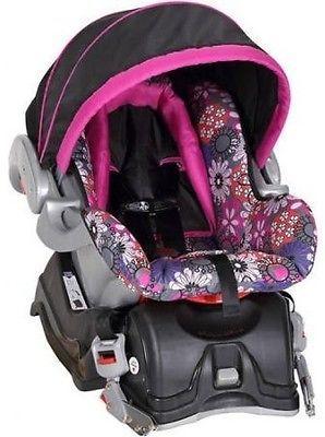 Baby Trend EZ Ride 5 Travel System Floral Garden Stroller Infant Car Seat