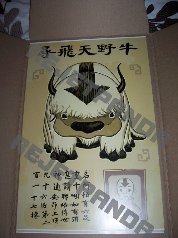 Avatar the Last Airbender Lost Appa Wanted by