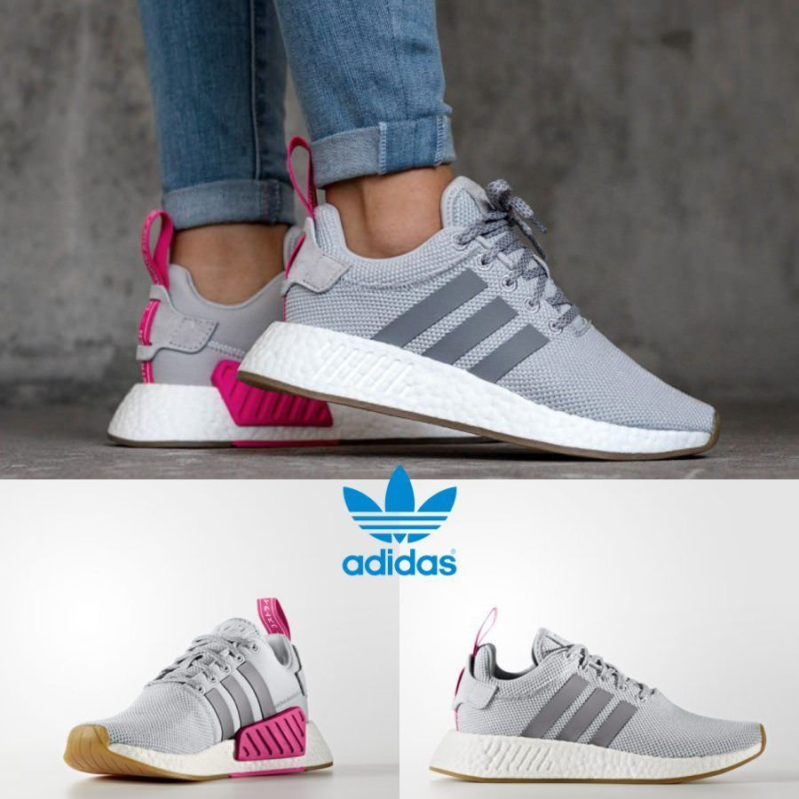 ba1b2e0cde71 Adidas Original Runner 2 BY9317 Grey Grey Pink Sneakers Limited SZ 4 ...