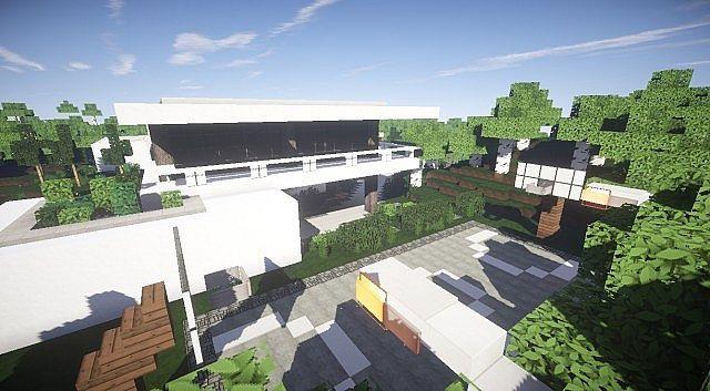 Aspire Modern Beach House 2 Minecraft Modern Building Ideas 4