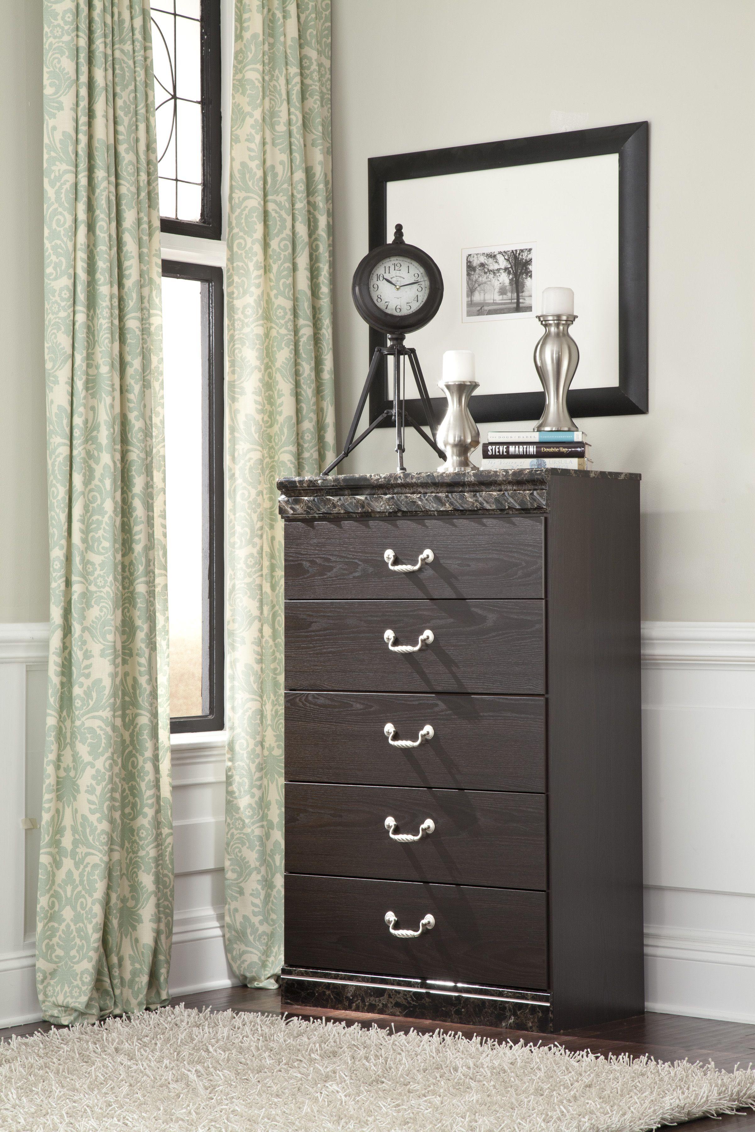 The uvachelu chest has working drawers the uvachelu bedroom