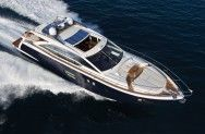 HT 62 #Yacht - From above view. MotorBoat Design by Fred Huston. Boatyard: Uniesse Marine. Year: 2011. Find out more at: http://www.barcheyacht.it/scheda-tecnica/uniesse-marine-ht-62/