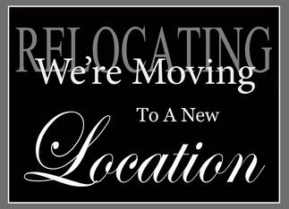 business we re moving announcement card intimate pilates