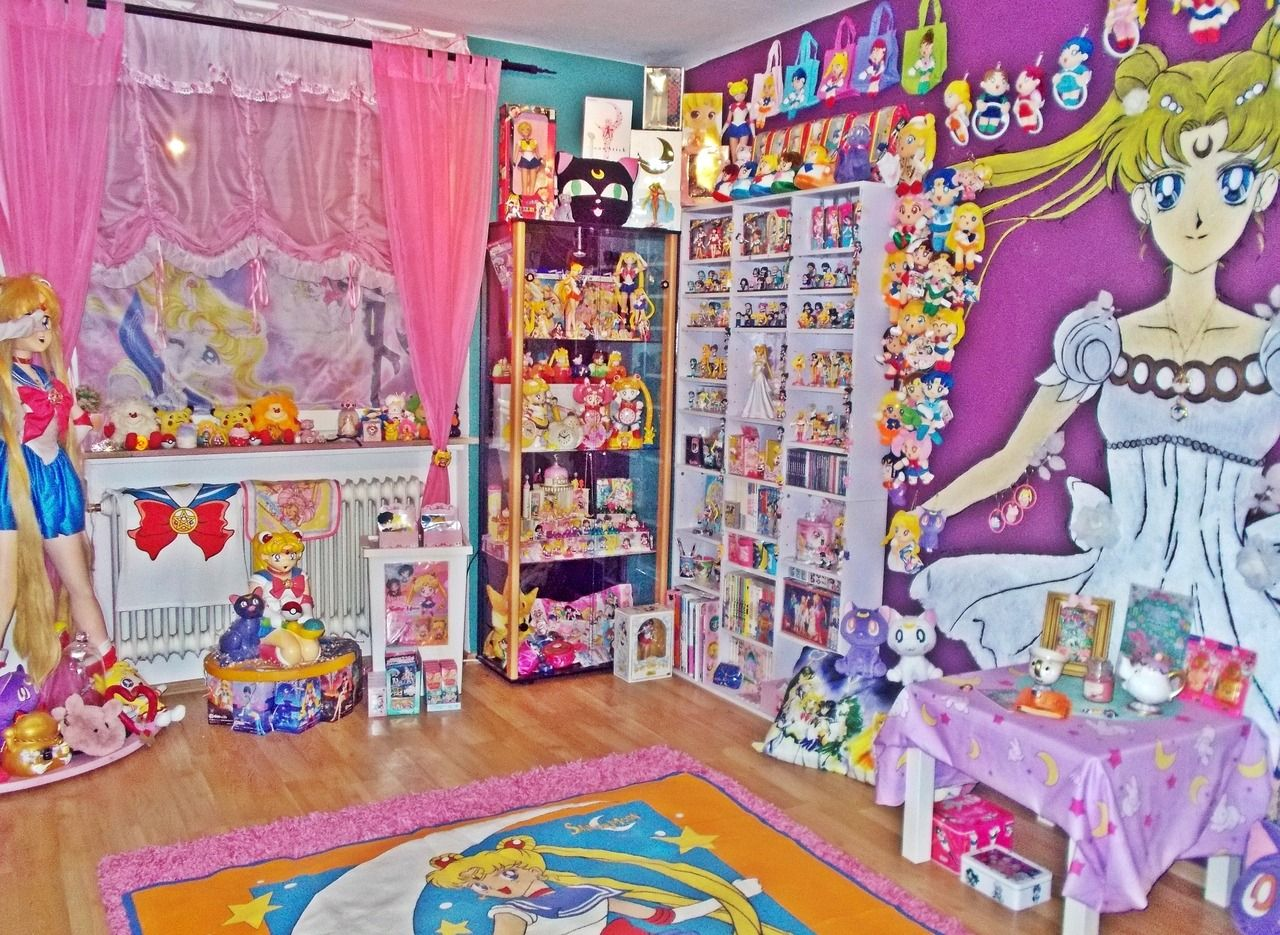 Sailor Moon Collection Room Sailormoon Otaku Kawaii セーラームーン