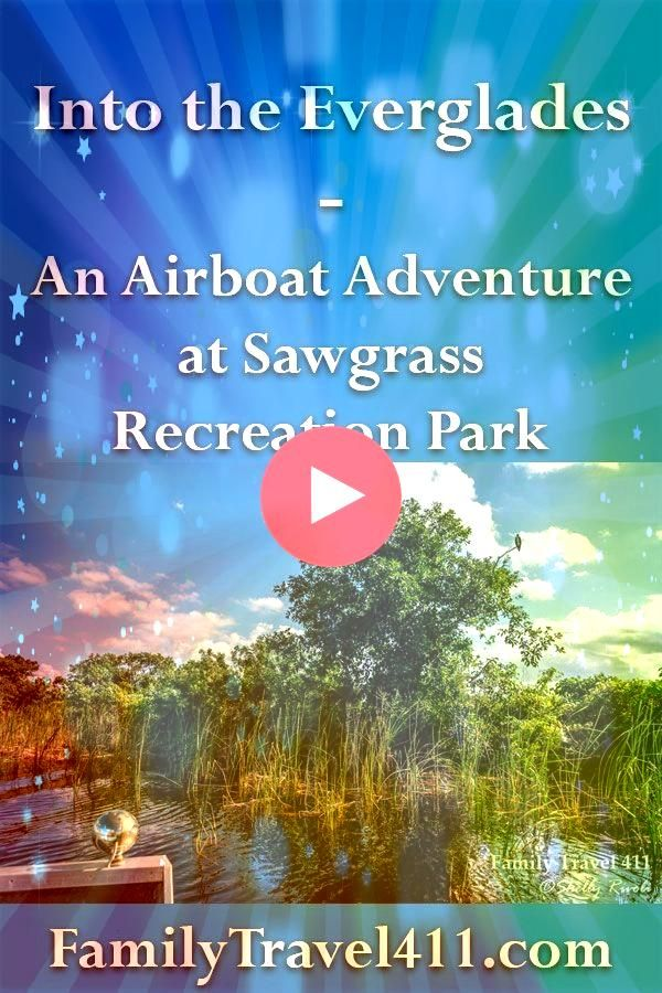 the Everglades: An Airboat Adventure at Sawgrass Recreation Park Take a vicarious Evergaldes airboat adventure from near Fort Lauderdale, and get a look the wildlife and ecosystem with an experienced air boat captain after a hurricane wetlandsTake a vicarious Evergaldes airboat adventure from near Fort Lauder...