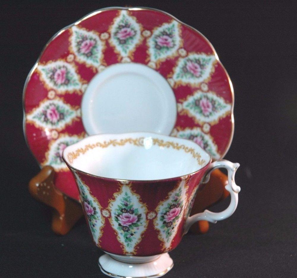 Royal Albert Royal Series Holyrood Cup and Saucer