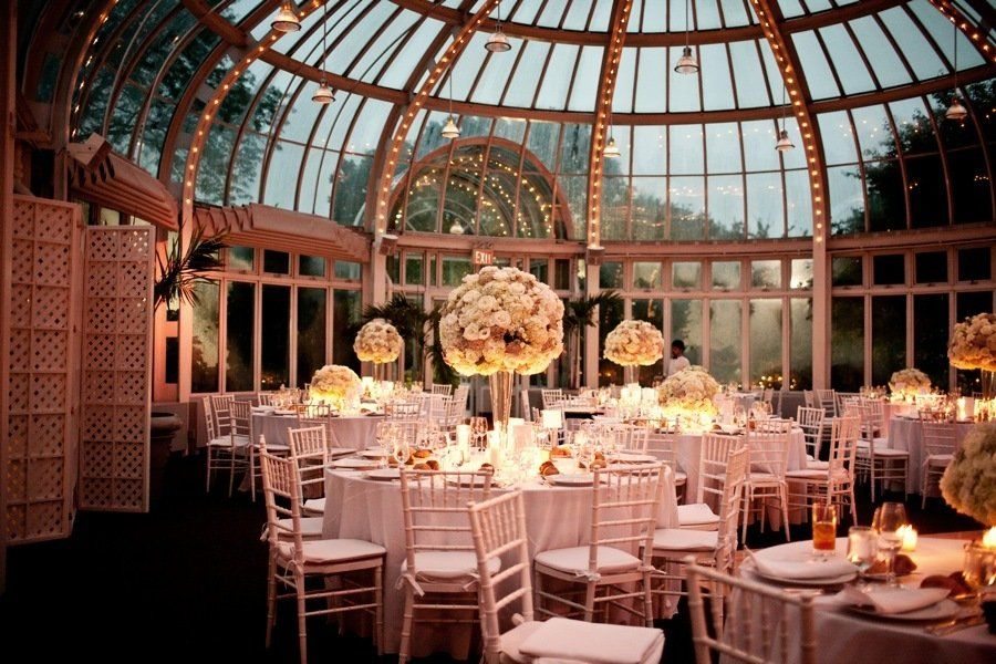 The Palm House At Brooklyn Botanic Garden Wedding By Brookelyn Photography Romantic Weddings