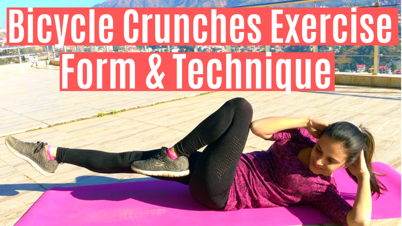 Watch This Video To Learn How To Do Bicycle Crunch Exercise