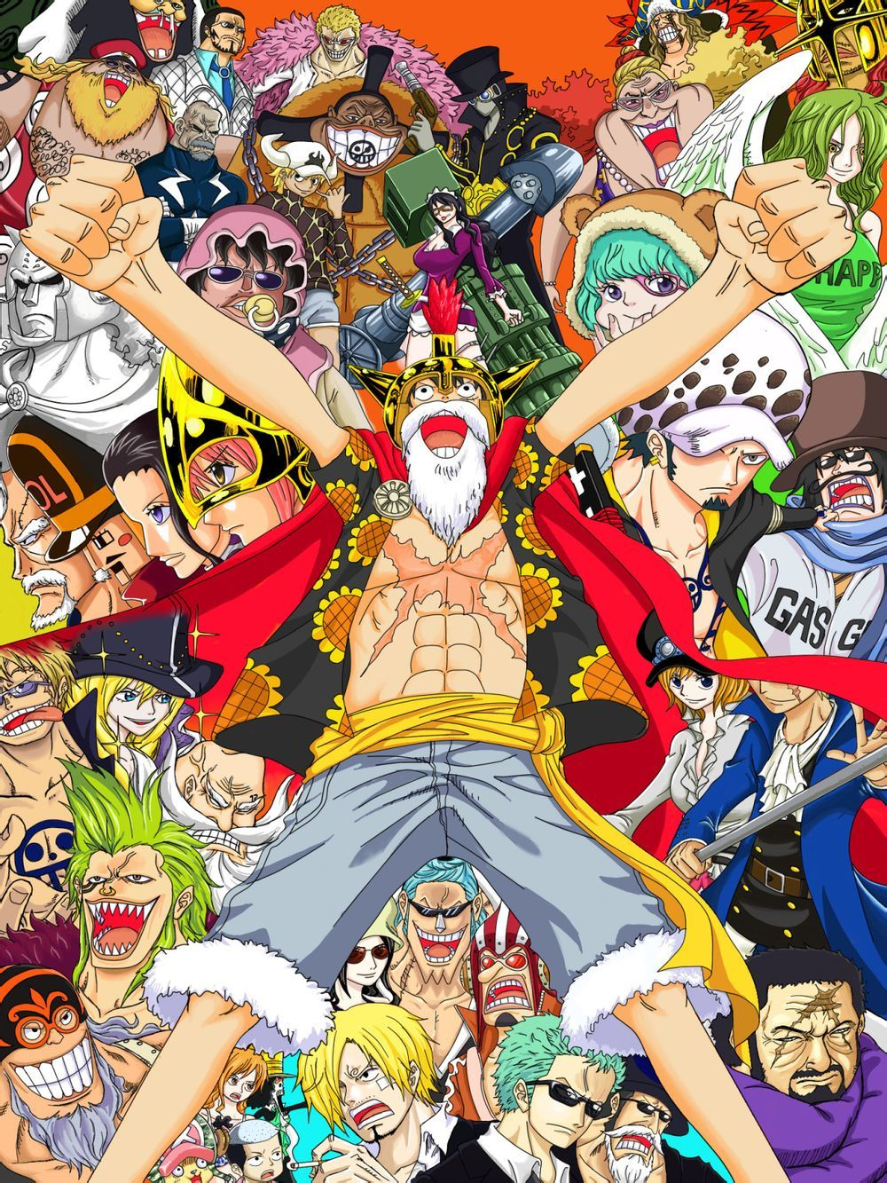 One Piece Dressrosa Arc And Sabos Obscured Face Hehehehe