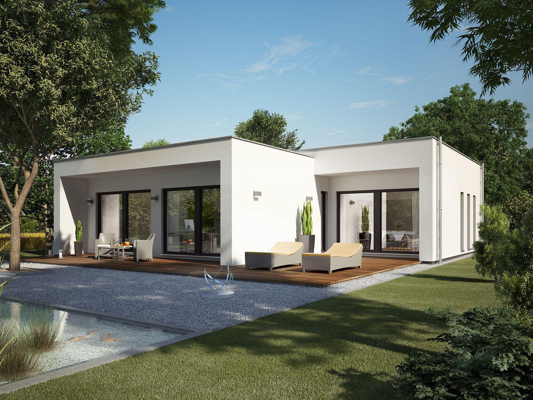 Modernes holzhaus bungalow  Schöne häuser | Haus | Pinterest | Schöne häuser, Häuschen und Schöner