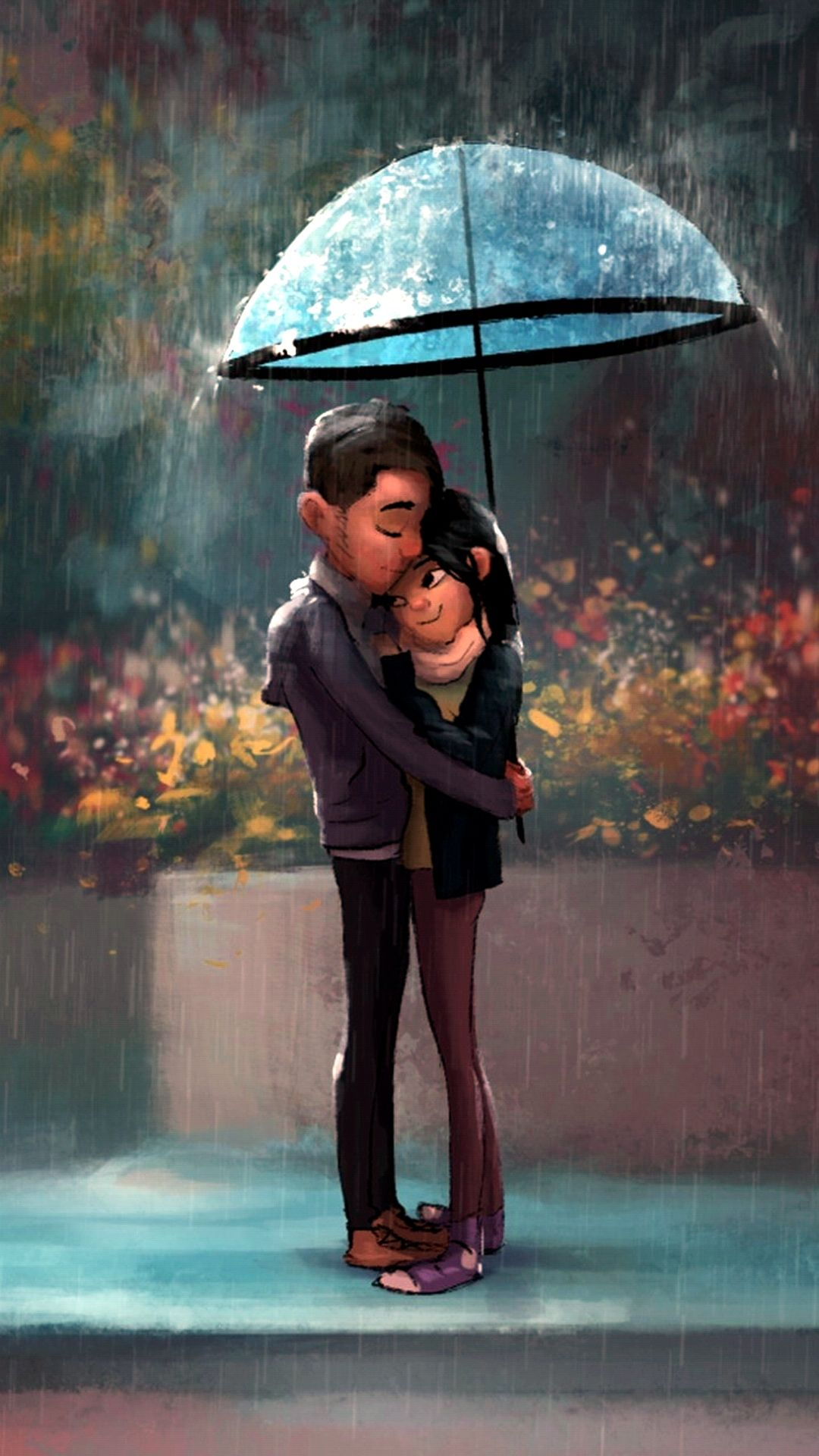 Lovers Apple Iphone 6 Hd Wallpapers Available For Free Download Painting Love Couple Couple Cartoon Love Cartoon Couple