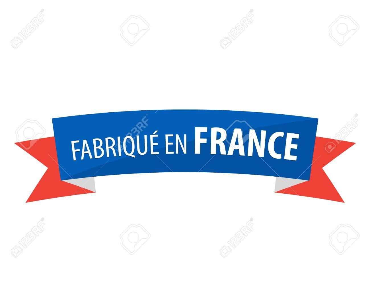 Fabriqu En France Made In France Illustration Ad En