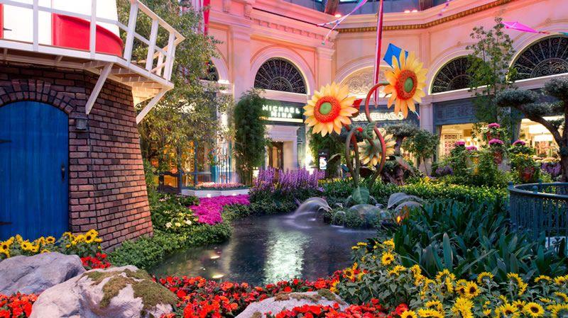 Bellagio Botanical Gardens Las Vegas Summer 2013