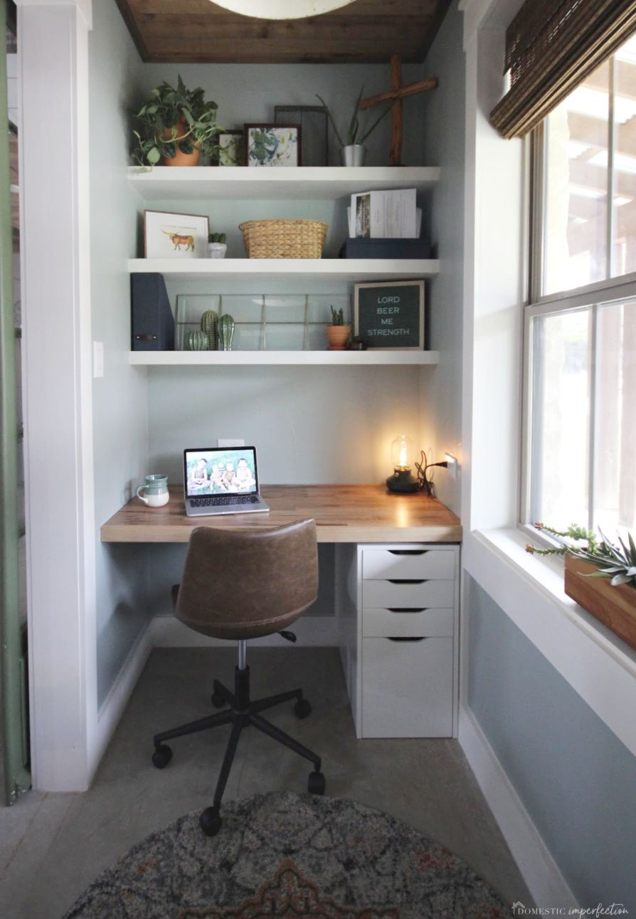 Photo of Our Tiny Home Office Reveal!